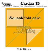 CreaLies Cardzz 13 Squash fold card die (pop up die)